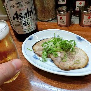 炙りチャーシュー(久留米 大砲ラーメン KITTE博多店)