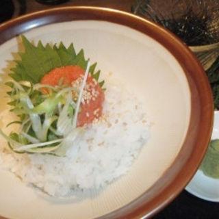 創作だし茶漬け 明太子(九重 (-kokonoe-))