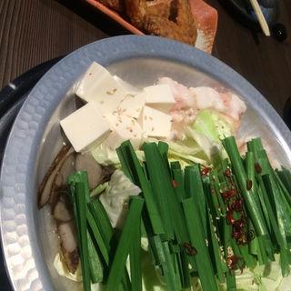 モツ鍋 白味噌(亀八 お初天神裏参道店 (カメハチ))