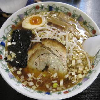 挽肉そぼろセット(醤油ラーメン)(二代目めん家 味味 )