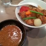 フランス産豚肉のトロトロ煮 濃厚キノコデミスープ