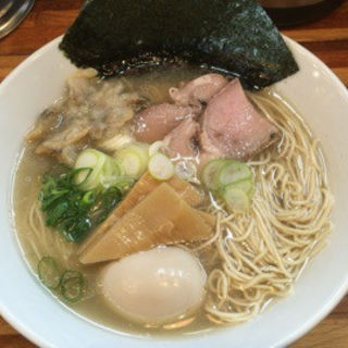 味玉淡麗貝塩らーめん(五ノ神水産 )