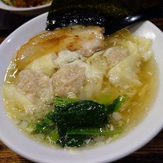 肉厚ワンタンメン(塩)(五代目らーめん処 まるは商店 )