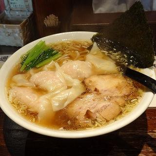 肉厚ワンタンメン(大盛り)(五代目らーめん処 まるは商店 )