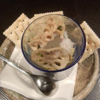 アボガドとずわい蟹タルタル(五十松)