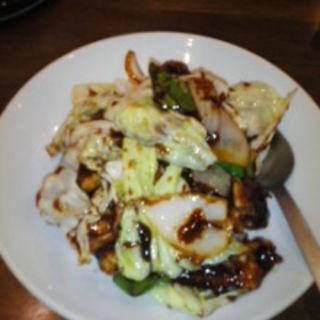 回鍋肉飯+上海焼きそばのセット(京華亭 )