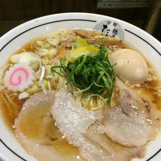 味玉ラーメン(大)(京都 麺屋たけ井 阪急梅田店 (きょうと めんやたけい))