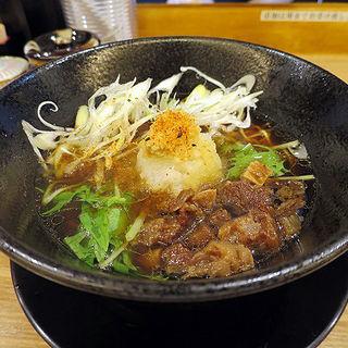 牛骨醤油ラーメン(人情麺家 牛骨王 )