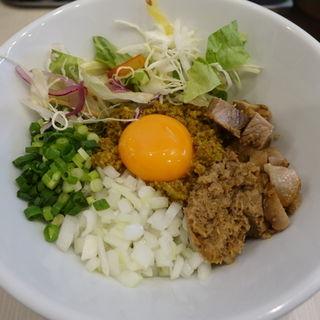 キーマぜそば(人生夢路 徳麺 )