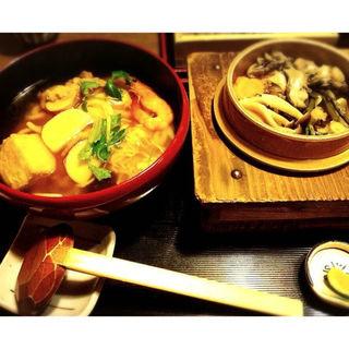 季節の釜飯 (牡蠣)(今日亭 中崎店 (こんにちてn))