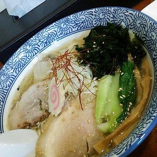 塩ワンタン麺&レアチャー(仙人掌 )