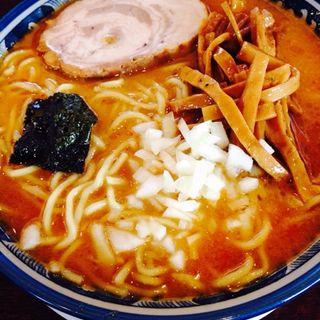 味噌らあめん(辛みの利いたスープです)(仙台大勝軒 )