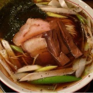 信州 王様中華そば(信州松本 麺肴ひづき 湯きりや )