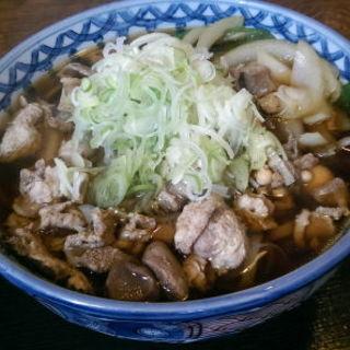 名物モツ蕎麦(信濃路 )