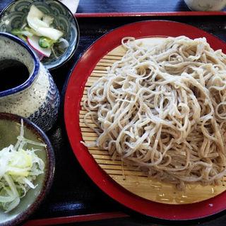もり蕎麦 大盛り(信生庵 )