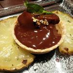 西表島パインと濃厚生チョコのタルト