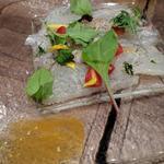 旬の鮮魚のカルパッチョ