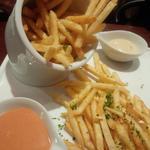 ポテトフライとブラバソース