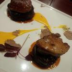 黒毛和牛フィレ肉とフォアグラのロッシーニ スパニッシュスタイル
