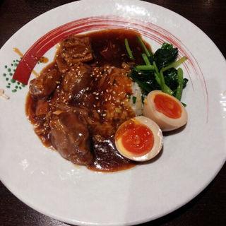 牛肉煮込みご飯(俺の揚子江 銀座4丁目 )