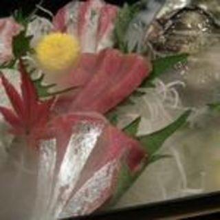 本日の刺身7種盛(俺の魚を食ってみろ!! 赤坂見附店 (【旧店名】くいもんや 壱))