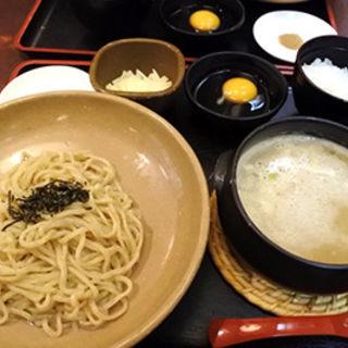 鶏白湯つけ麺(元喜神 奈良店)