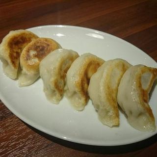 鴨と行者ニンニクの小鍋(八仙 2号店)