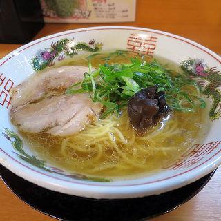 金醤油ラーメン(六五郎)