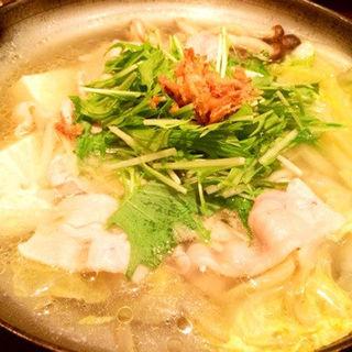 元祖あさぎり豚の生姜鍋