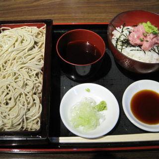 新蕎麦せいろとねぎとろ丼(柿天舎 )