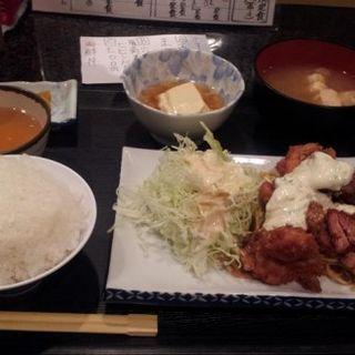 チキン南蛮定食(割烹 くじら屋 初代)