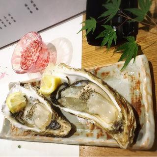 生牡蠣(割烹石崎 )