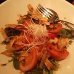 トマトと寄せ豆腐のサラダ