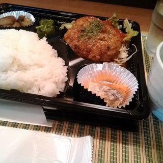 煮込みハンバーグ弁当(ご飯大盛り)(創作バルMitsu-Bal(ミツバル))