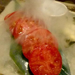 冷やしトマト(北海道 増毛町 魚鮮水産 すすきの第3グリーンビル店)