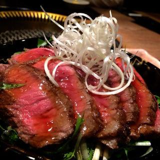 田村ぬちステーキ丼(北海道の旬 焼肉たむら)