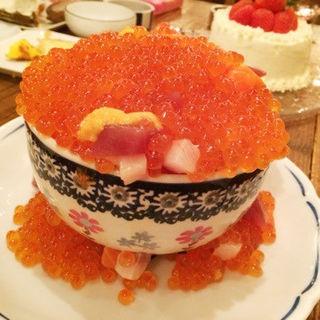 イクラ丼(北海道ろばた 居心地)