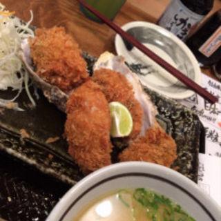 カキフライ定食(北海道厚岸 コレド室町店)