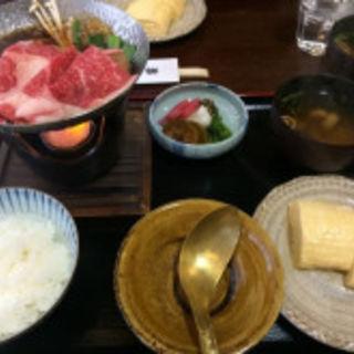 すき焼き(十二段家 花見小路店 (じゅうにだんや))