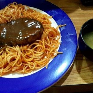 スパゲティーハンバーグ(十勝)