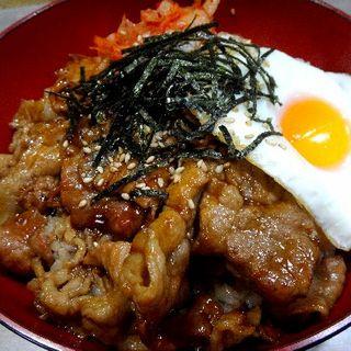 焼肉丼(千両 )