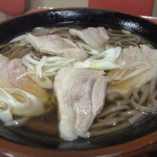 肉そば(ぶた)(千両)
