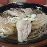 肉そば(ぶた)