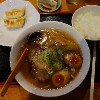 ゴールド 天然塩ラーメンセット(博士ラーメン 別館 (はかせらーめん))