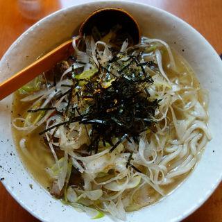特沖縄天然しぐれネギ塩ラーメン(博士ラーメン 別館 (はかせらーめん))