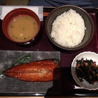 さばみりん定食(博多もつ鍋 やまや 名古屋駅店 )