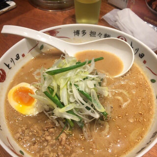 ごまとりそば(博多担々麺 とり田)