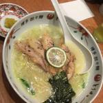 チャーシューとり白湯麺