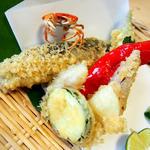 鮎の天ぷら