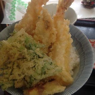 海鮮天丼(友福丸 (ともふくまる))